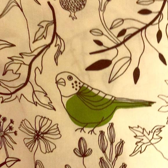 IKEA S Edholm L Ullenius bird green white fabric